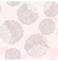 Subtle flowers vector