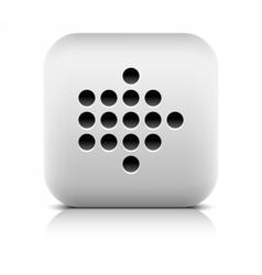 Web icon with digital arrow sign vector