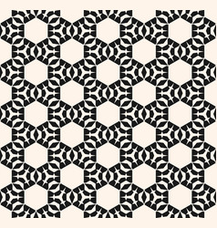 abstract monochrome ornamental geometric texture vector image vector image