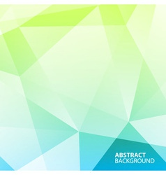 Abstract blue - green geometric background vector