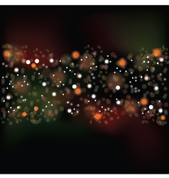 Background with flare vector image