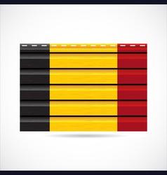 Belgium siding produce company icon vector image