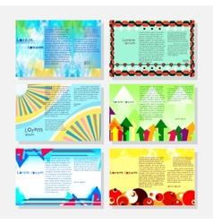 Brochures2 vector image