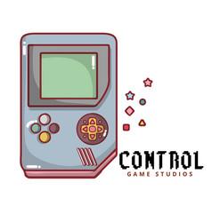 Control game studios game boy background im vector