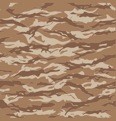 desert tiger stripe camouflage seamless patterns vector image