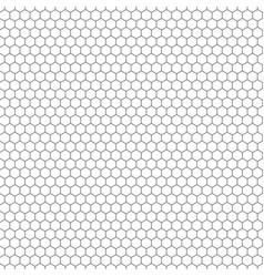 Hexagon seamless texture hexagonal grid vector
