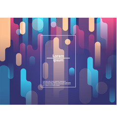 modern style abstraction with composition made of vector image