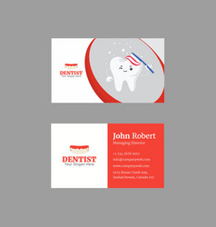 Sophisticated business card design with duotone vector