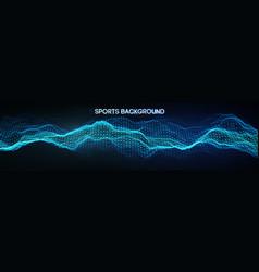 Sport background mixed media vector