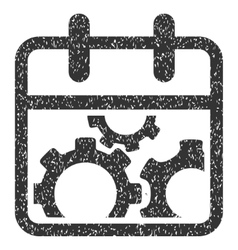 Technical Day Grainy Texture Icon vector image