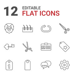 Template icons vector