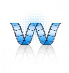 Vector film strip vector