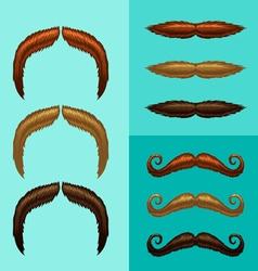 Mustaches-part 5 vector