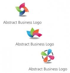 abstractlogos vector image vector image
