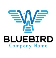 Blue Bird Design vector