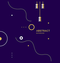 Composition geometric forms vector