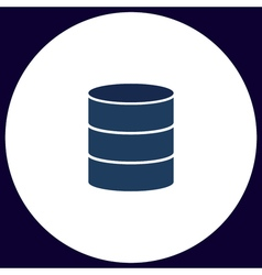 Database computer symbol vector