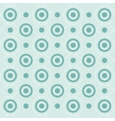 geometrical circular pattern background vector image