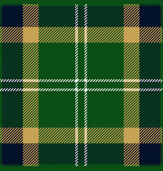 Green blue and beige tartan plaid seamless pattern vector