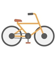 New classic bicycle vector image