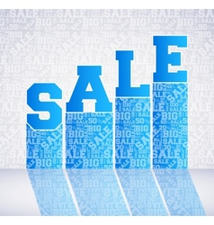 pattern of discount Sales vector image vector image