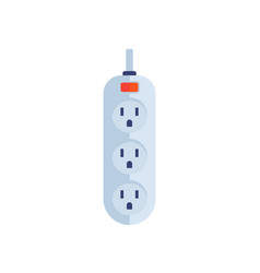 Power strip icon type b socket vector