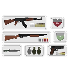 Weapons Game resources vector