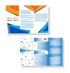 Brochure3 vector image