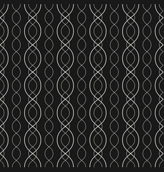 Abstract geometric seamless pattern curved lines vector