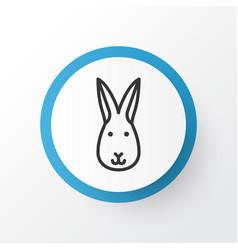 rabbit icon symbol premium quality isolated bunny vector image