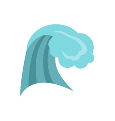 ocean wave icon cartoon style vector image vector image