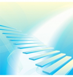 stairs vector image vector image