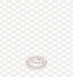White Textured Wallpaper vector image