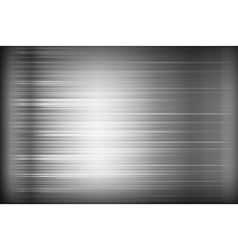 Dark chrome black and grey background texture vector image