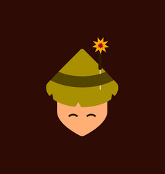 East man of chinese new year vector