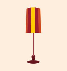 floor lamp stand vector image