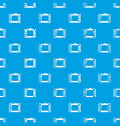 Graphic tablet pattern seamless blue vector
