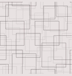 monochrome background with rendered squares vector image