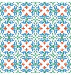 Multicolor pattern vector
