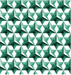triangular geometric seamless pattern vector image