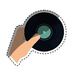 Vinyl vintage record vector