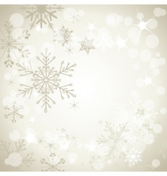 winter soft background2 vector image