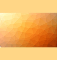 abstract red orange colorful lowploly of many vector image vector image