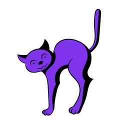 cat icon cartoon vector image vector image