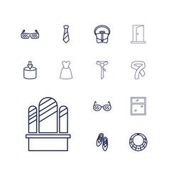 13 elegance icons vector