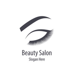 beautiful woman logo vector image