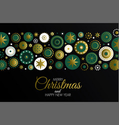 holiday christmas gretting card design vector image