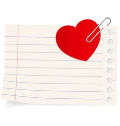 love letter icon vector image
