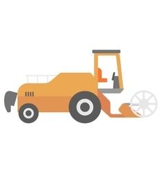 Modern combine harvester vector image