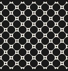 seamless pattern with circles and squares vector image